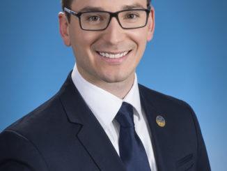 Simon Jolin-Barrette, député de Borduas.