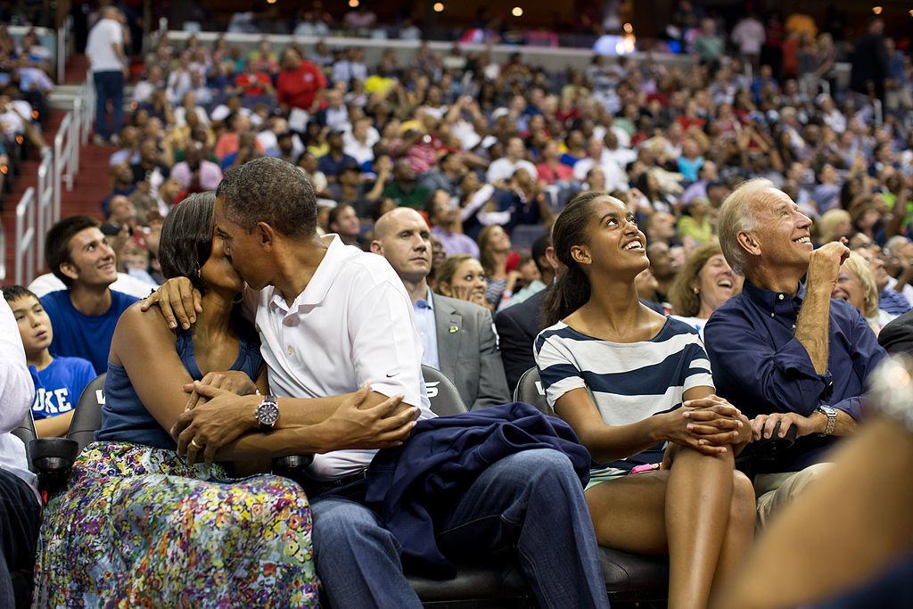 Barack et Michelle Obama 5 mars 2016