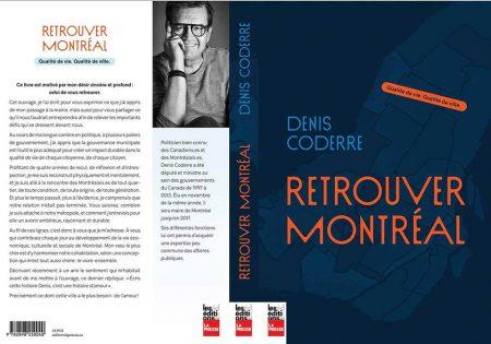 Retrouver Montréal - Denis Coderre - Les éditions LA PRESSE